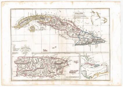 Antillas españolas / por Don Camilo Alabern ; grabada la letra por Mabon