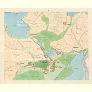 Kestrzan (Kestřan) - c3095-2-004 - Kaiserpflichtexemplar der Landkarten des stabilen Katasters