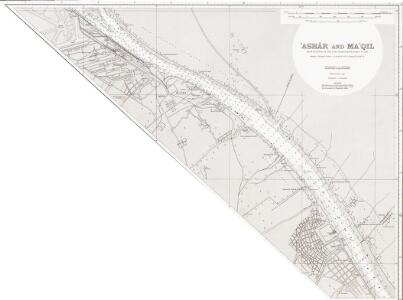 Persian Gulf. Shatt al Arab. Sheet v. Ashar and Ma'qil. (1958)