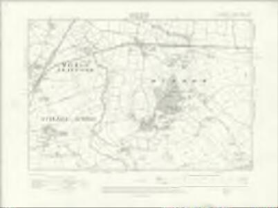Cheshire XXXIX.NW - OS Six-Inch Map