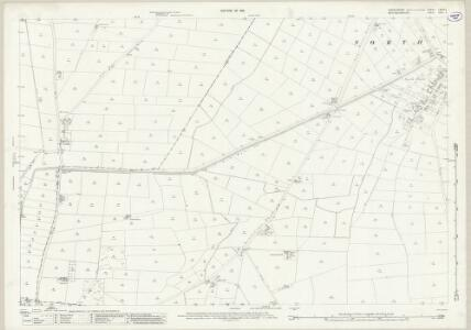 Lincolnshire LXXVII.1 (includes: Besthorpe; Girton; North Scarle) - 25 Inch Map