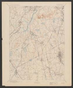 Dedham quadrangle, Massachusetts
