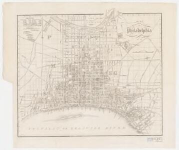 Plan von Philadelphia