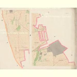 Nürschan (Newřowo) - c5338-1-004 - Kaiserpflichtexemplar der Landkarten des stabilen Katasters