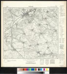 Meßtischblatt 3556 : Forbach, 1936