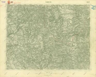 III. vojenské mapování 3957