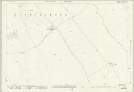 Wiltshire XVI.12 (includes: Ashbury; Bishopstone) - 25 Inch Map