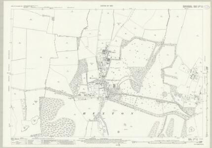 Bedfordshire XXVI.14 (includes: Barton in The Clay; Hexton; Higham Gobion; Shillington) - 25 Inch Map