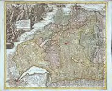 Mappa geographica illustris Helvetiorum reipublicæ Bernensis