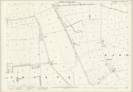 Lincolnshire LX.10 (includes: Fenton; Hardwick; Kettlethorpe; Torksey) - 25 Inch Map