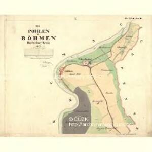 Pohlen - c7178-1-001 - Kaiserpflichtexemplar der Landkarten des stabilen Katasters