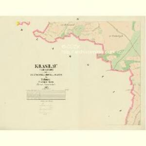 Krasilau (Krasilow) - c3512-1-004 - Kaiserpflichtexemplar der Landkarten des stabilen Katasters