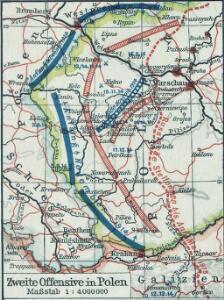 Zweite Offensive in Polen