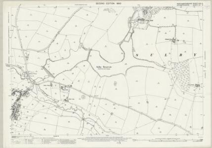 Northamptonshire XXIII.5 (includes: Husbands Bosworth; Sulby; Welford) - 25 Inch Map