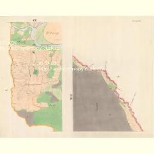 Bilnitz - m0305-1-006 - Kaiserpflichtexemplar der Landkarten des stabilen Katasters