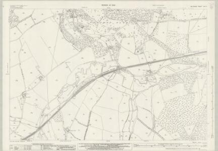 Wiltshire LXV.9 (includes: Dinton; Fovant; Sutton Mandeville; Teffont; Tisbury) - 25 Inch Map