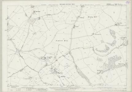 Somerset VIII.5 (includes: Batheaston; Charlcombe; Cold Ashton; Swainswick) - 25 Inch Map