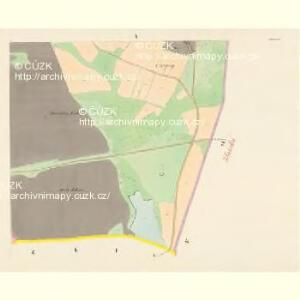 Chlumetz - c2522-1-010 - Kaiserpflichtexemplar der Landkarten des stabilen Katasters