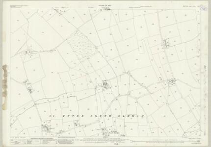 Suffolk XVII.7 (includes: Bungay; Flixton; Ilketshall St Margaret; South Elmham St Michael; South Elmham St Peter) - 25 Inch Map
