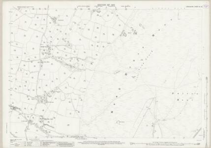 Lancashire XI.13 (includes: Dalton In Furness; Kirkby Ireleth) - 25 Inch Map