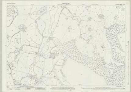 Wiltshire LXIX.6 (includes: Ansty; Donhead St Andrew; Semley; Tisbury) - 25 Inch Map