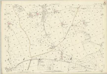 Devon XLII.14 (includes: Wembworthy; Winkleigh) - 25 Inch Map