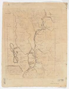 An accurate plan of 189,120 acres of land on Penobscot River being the purchase from the Penobscot Indians by government on each side said river together with two gores of land, one on each side