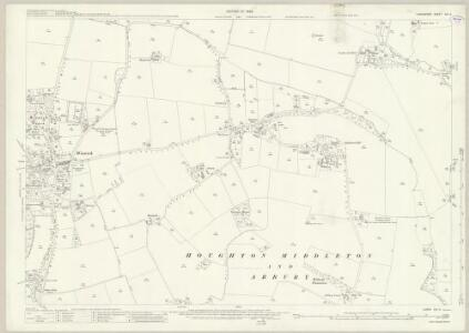 Lancashire CIX.5 (includes: Croft; Winwick) - 25 Inch Map