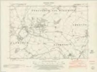 Buckinghamshire V.SW - OS Six-Inch Map