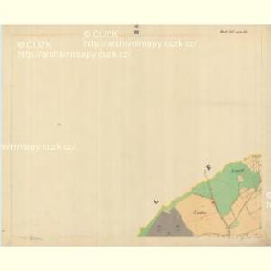 Böhm. Gillowitz - c2059-2-003 - Kaiserpflichtexemplar der Landkarten des stabilen Katasters