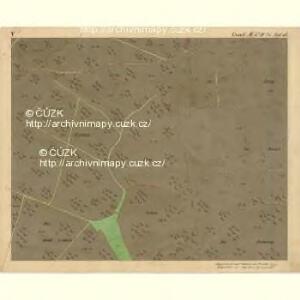 Nikolsburg - m1785-1-007 - Kaiserpflichtexemplar der Landkarten des stabilen Katasters