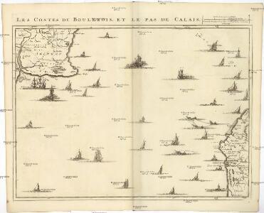 Les costes du Boulenois et le Pas de Calais