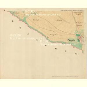 Plospitz - m2301-1-002 - Kaiserpflichtexemplar der Landkarten des stabilen Katasters