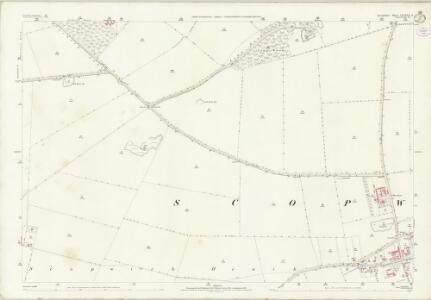 Lincolnshire LXXXVII.6 (includes: Blankney; Scopwick) - 25 Inch Map