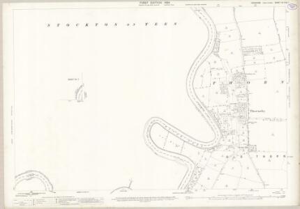 Yorkshire XV.8 (XV.7) (includes: Ingleby Barwick; Preston On Tees; Stockton On Tees; Thornaby) - 25 Inch Map
