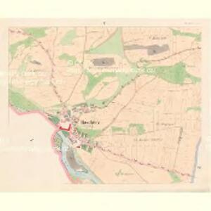 Hoschtitz (Hosstitz) - c7453-1-004 - Kaiserpflichtexemplar der Landkarten des stabilen Katasters