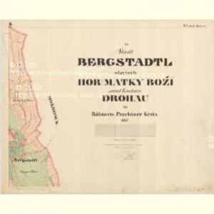 Drohau - c1537-1-002 - Kaiserpflichtexemplar der Landkarten des stabilen Katasters