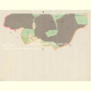 Botzonowitz - m0122-1-001 - Kaiserpflichtexemplar der Landkarten des stabilen Katasters