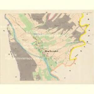 Klein Hermsdorf (Mala Heřmanka) - m0699-1-002 - Kaiserpflichtexemplar der Landkarten des stabilen Katasters