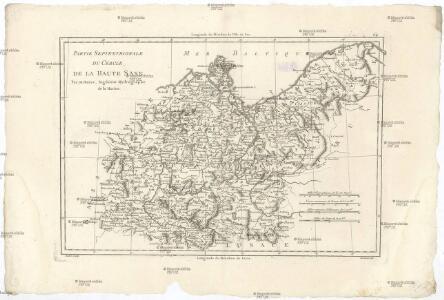 Partie septentrionale du cercle de la Haute Saxe