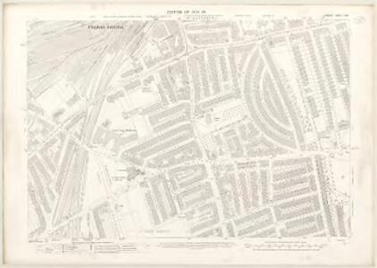 London X.60 - OS London Town Plan