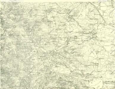 III. vojenské mapování 4352/4
