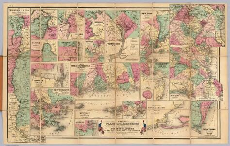 Colton's Plans Of U.S. Harbors.