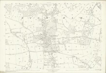 Somerset LXII.12 (includes: High Ham) - 25 Inch Map