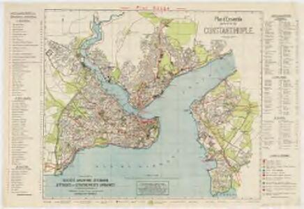 Plan d'ensemble de la ville d Constantinople