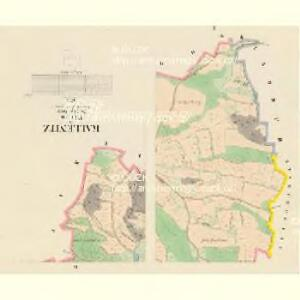 Kallenitz - c2981-1-002 - Kaiserpflichtexemplar der Landkarten des stabilen Katasters