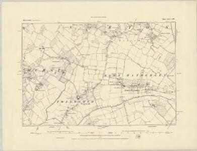 Gloucestershire XXV.NW - OS Six-Inch Map