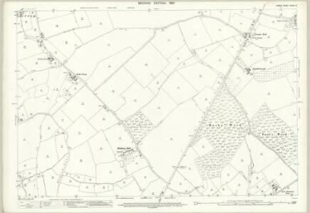 Essex (1st Ed/Rev 1862-96) XXXIV.5 (includes: Black Notley; Felsted; Great and Little Leighs) - 25 Inch Map