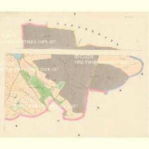 Kestrzan (Kestřan) - c3095-2-001 - Kaiserpflichtexemplar der Landkarten des stabilen Katasters