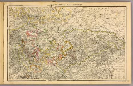 Thuringen u. Sachsen.